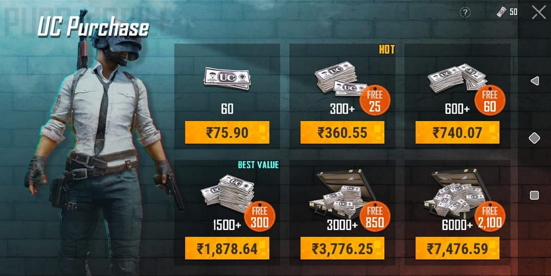 How to buy UC in PUBG Mobile Securely