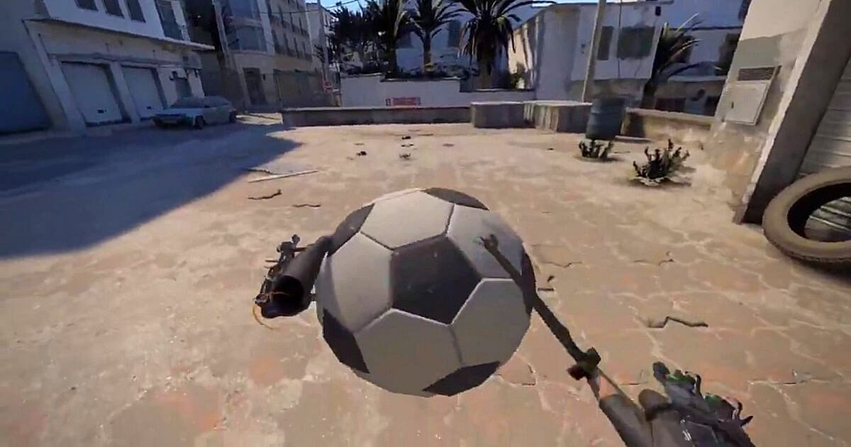 CS:GO User Creates a mod that Provides VR Experience of Dust 2 in Source 2 Engine