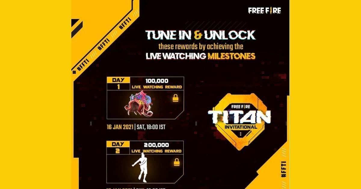 How To Get Free Fire Titan Invitational Rewards