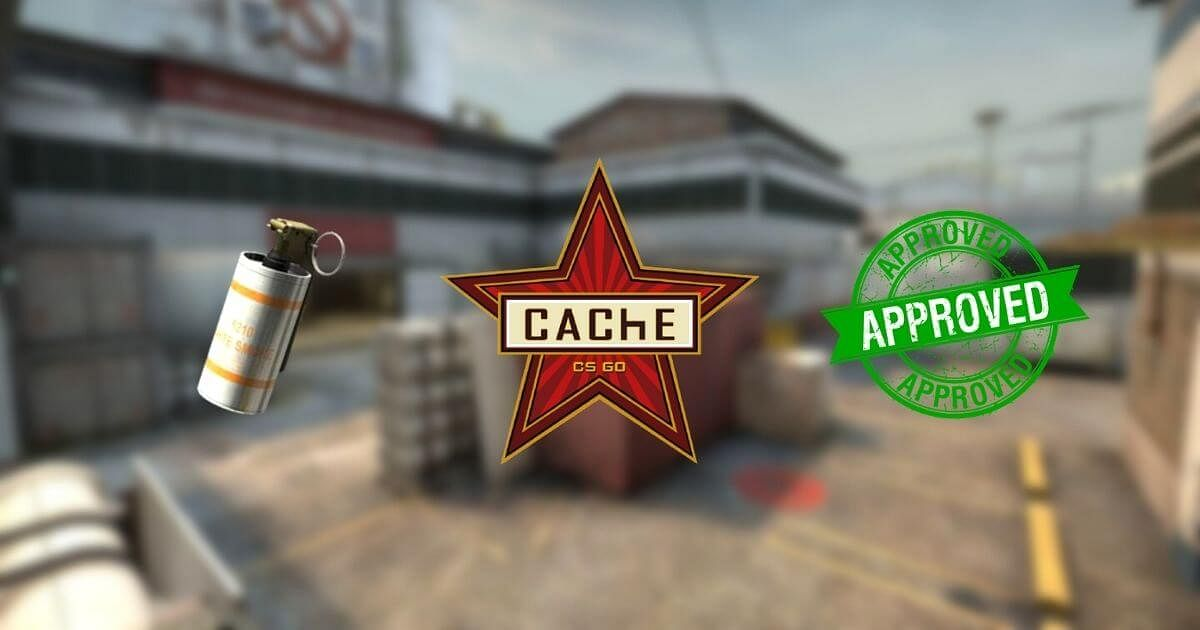 [Watch] 200 IQ Smoke From T-Spawn to A-Site on CS:GO Map Cache
