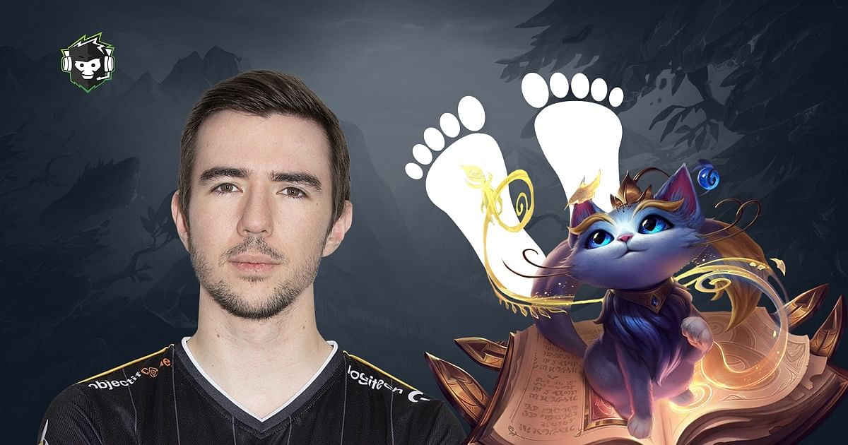 French Challenger Streamer Plays Yuumi Challenge With Feet