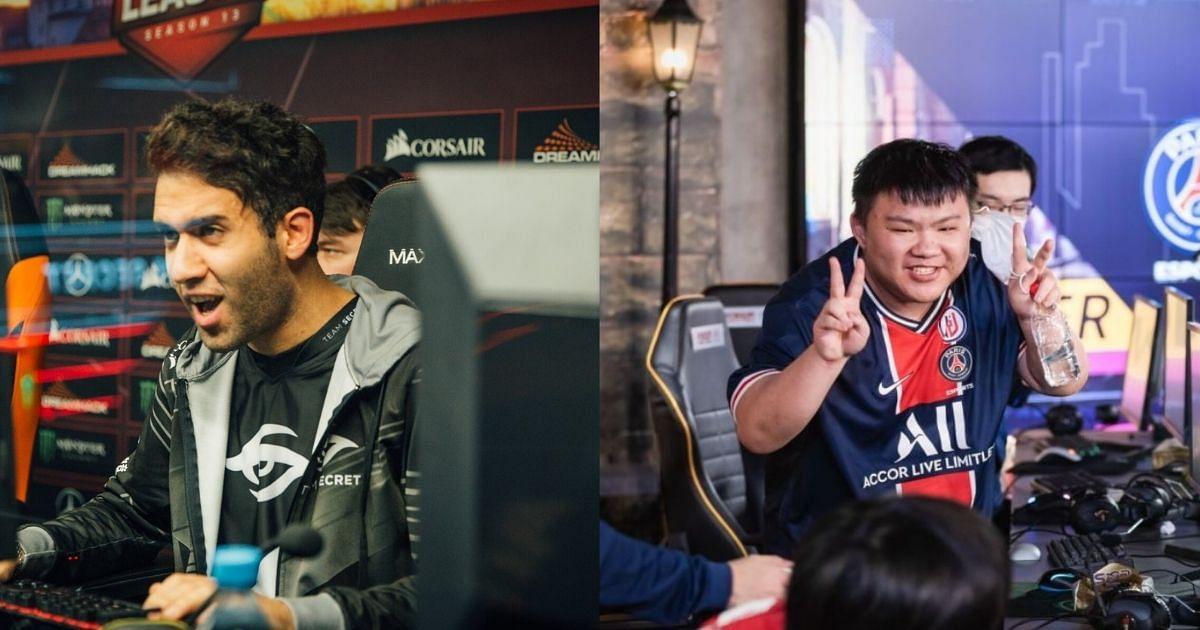 Team Secret and PSG.LGD Crush Thunder Predator and Virtus.pro at the Singapore Major