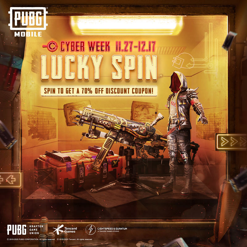Cyber Week Comes To PUBG Mobile With OnePlus Giveaways