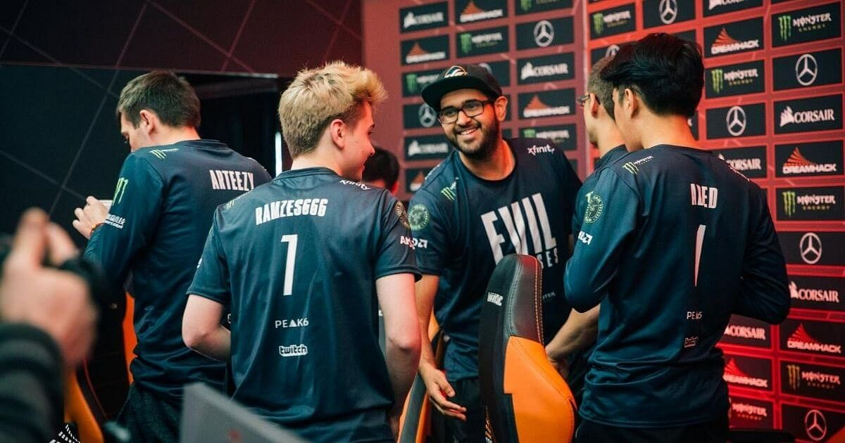 RAMZES666 Confirms That EG Will Be Playing With a Stand-In