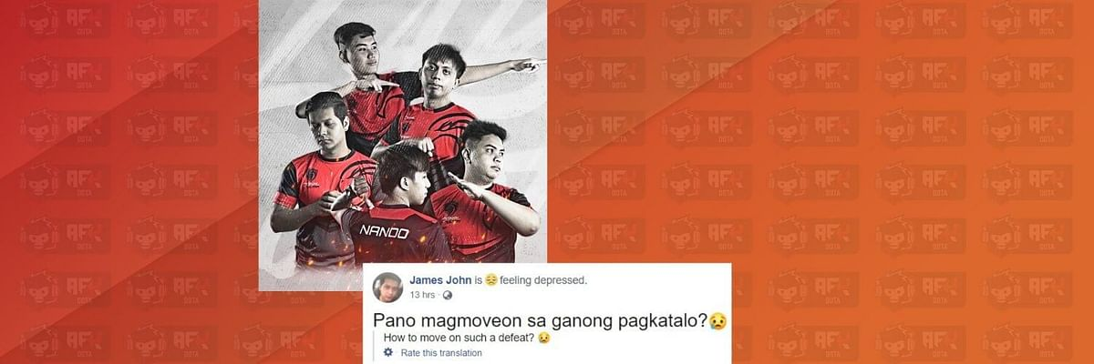 Cignal Ultra Players React to the Disconnection in the DL Season 13 Major: SEA Qualifiers