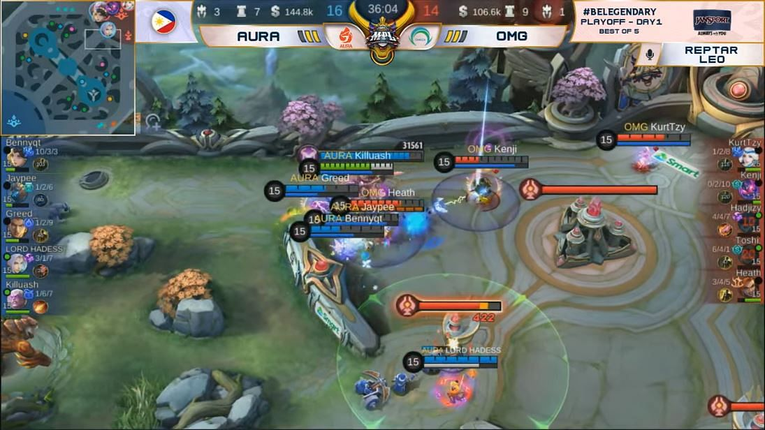 MPL PH Season 7 Playoffs Day 1 Recap: Work Auster Force and Aura PH Dominated the First Day
