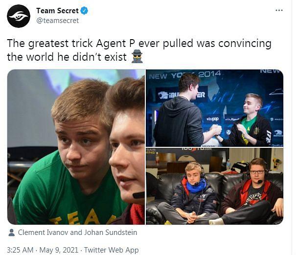 All the Banter from the OG vs Team Secret Series: Twitter Battle