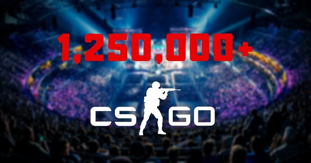CS:GO Creates a New Record by Achieving a Peak of more than 1.25 Million Concurrent Players
