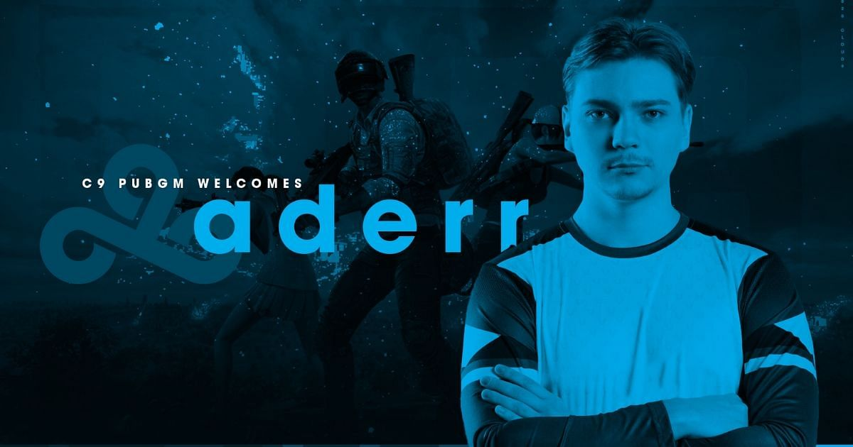 Cloud9  Sign Aderr to Their PUBG Mobile Roster