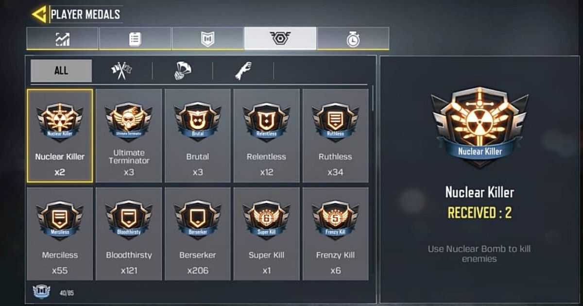 Everything You Need To Know About Medals In Call Of Duty: Mobile