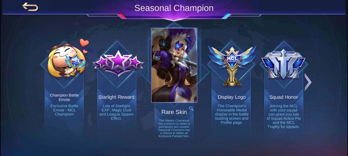 When Does MCL Mobile Legends 2021 End?
