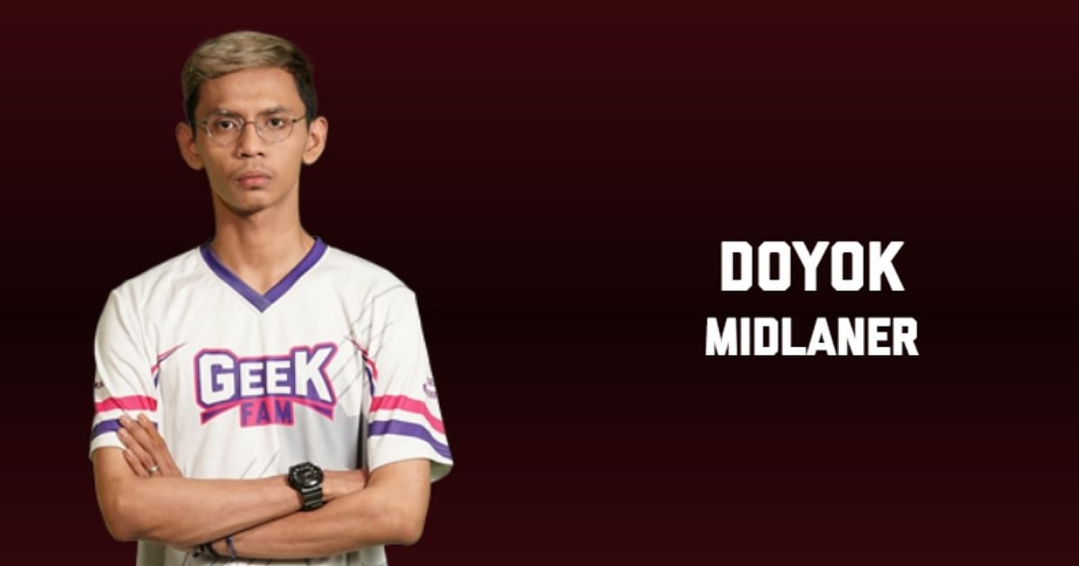 MPL ID Suspends Doyok From Playing For Geek Fam In 2 Matches