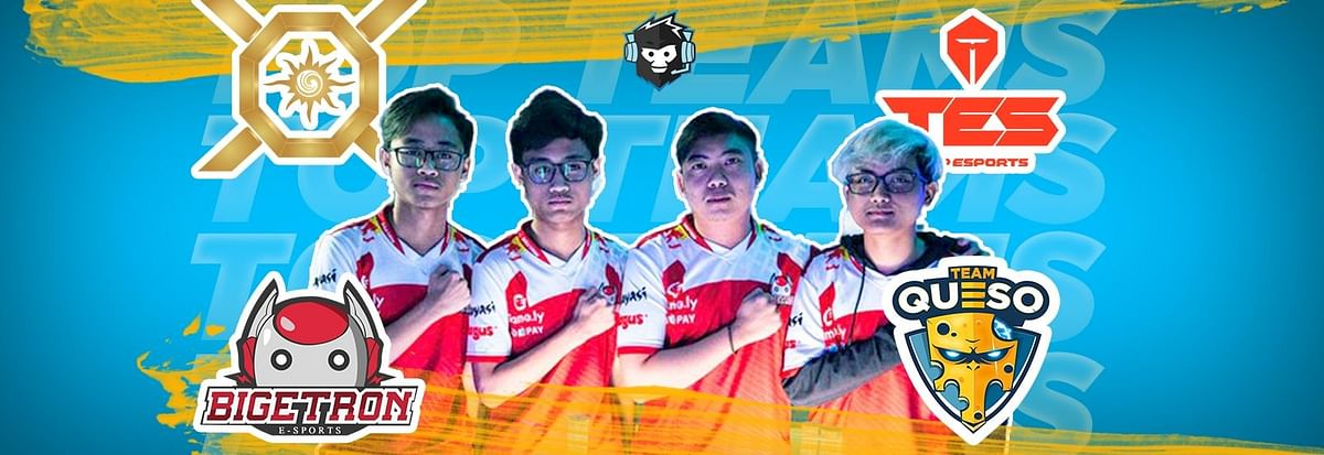 Ranking the Top 10 Global PUBG Mobile Teams of 2019