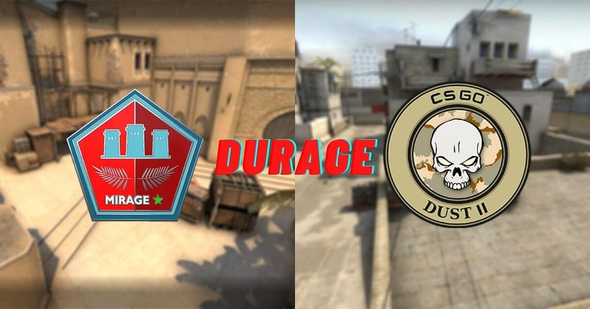 User Combines Dust 2 And Mirage to Create a New CS:GO Map