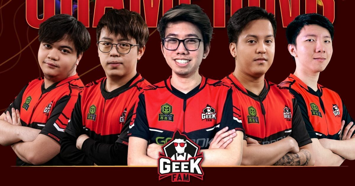 Geek Fam Win Their 2nd Championship in a Row at ONE Esports Dota 2 SEA League