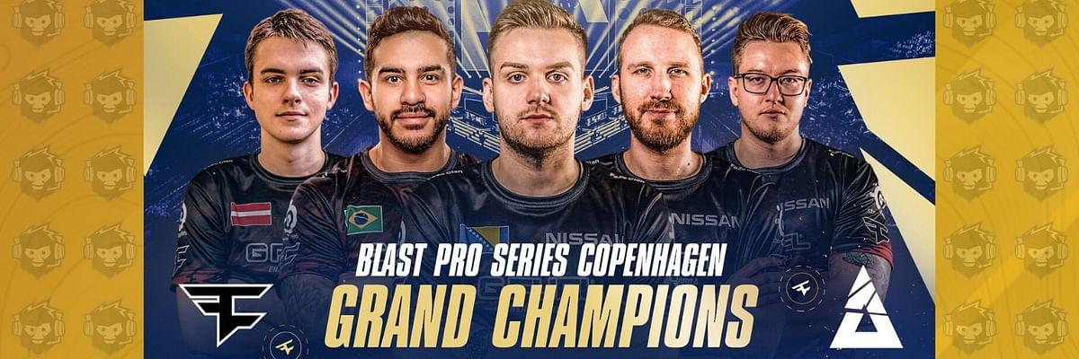 FaZe Clan defeats NiP to win BLAST Pro Series: Copenhagen 2019