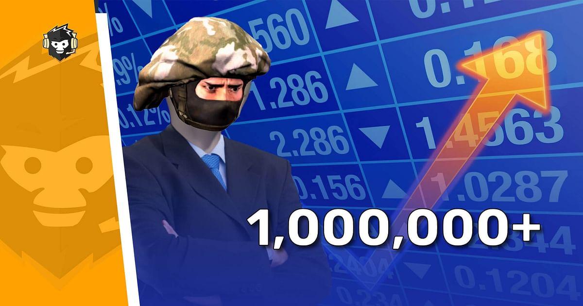 CS:GO Crosses 1 Million Concurrent Players After 4 Months
