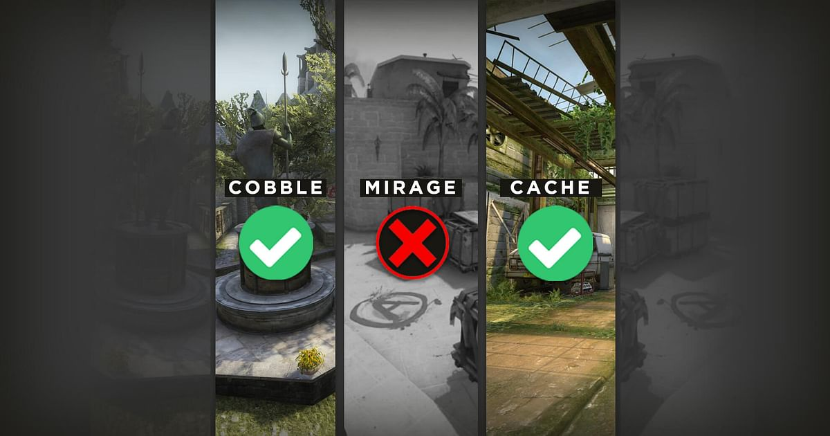Cryptic Tweets by CS:GO Devs Point Towards Possible Cobblestone/Cache Return, Mirage Rework, and More