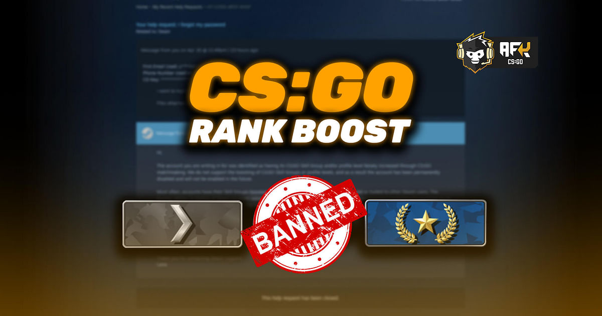 Has Valve Started Permanently Banning Steam Accounts for Boosting CS:GO Ranks?