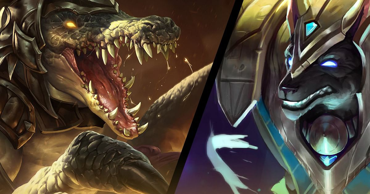 Wild Rift: Bad Blood Nemesis Duel Featuring Nasus and Renekton Revealed
