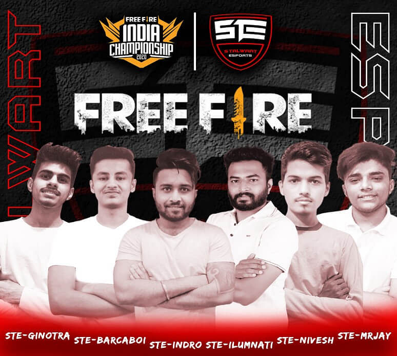 Stalwart Esports Introduces Free Fire Lineup For FFIC 2020
