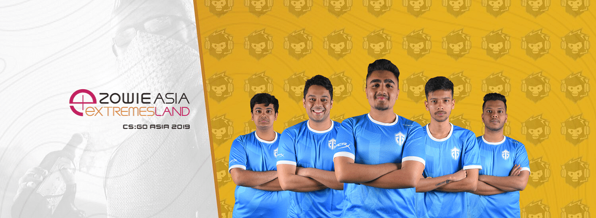 Indian CS:GO team Entity Gaming are the winners of the ZOWIE eXTREMESLAND 2019 South Asia Qualifiers