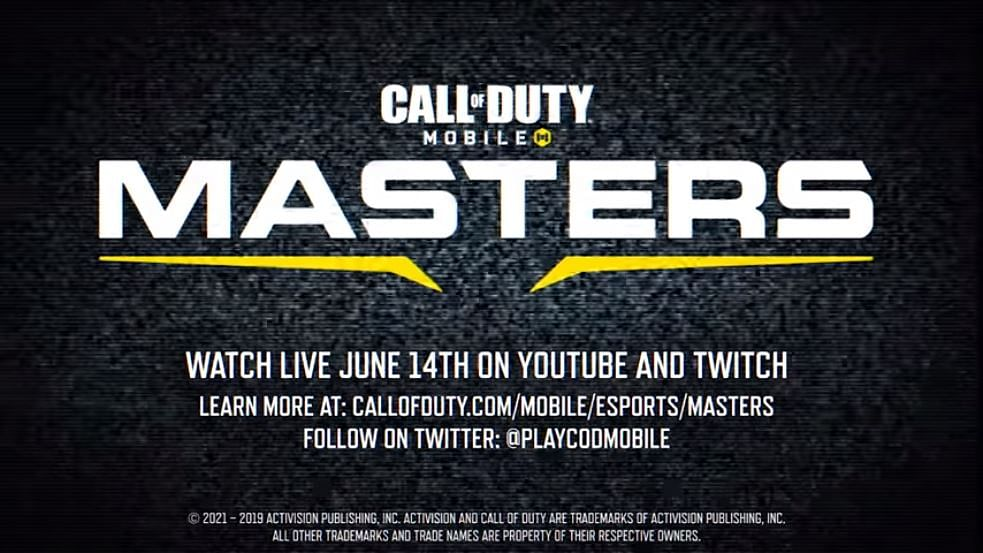 COD Mobile-Masters Announced With $100k USD Prize Pool