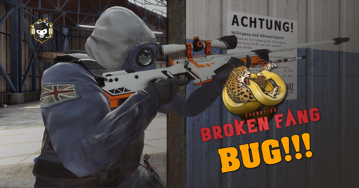 Weird CS:GO Bug Prevents Completion of Broken Fang Weekly Mission