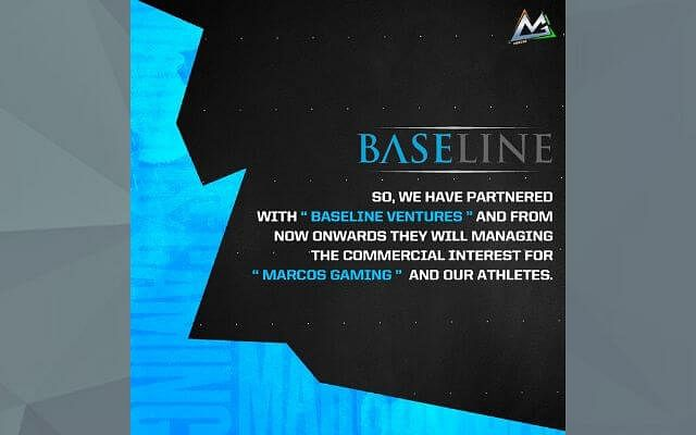 Marcos Gaming Announces Partnership With Baseline Ventures