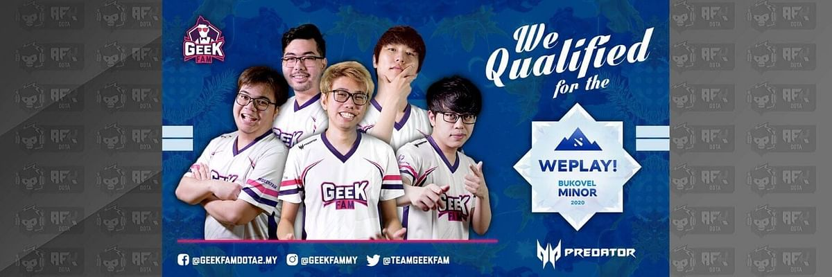 Geek Fam Stomp Cignal Ultra in the WePlay! Bukovel Minor 2020 SEA Qualifiers Grand Finals