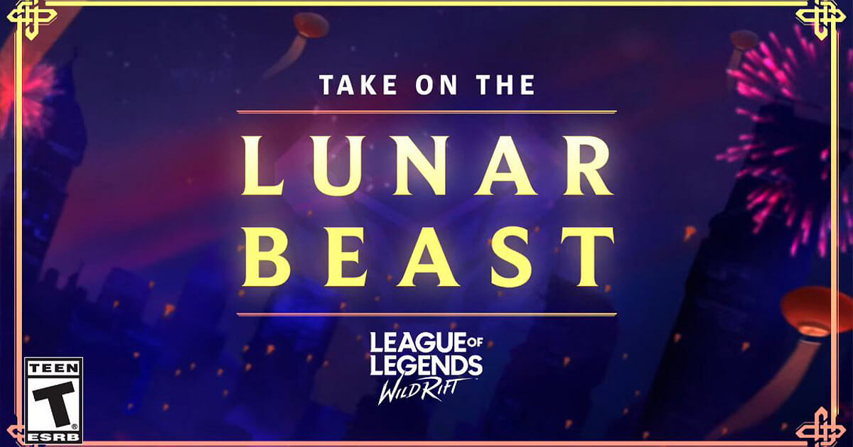 Lunar Beast Event is Now Live on Wild Rift