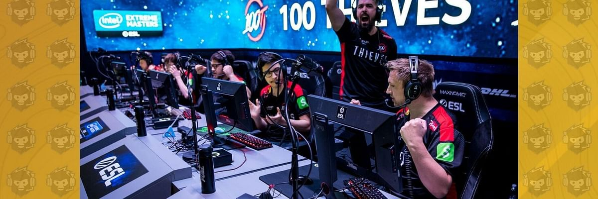 100Thieves Fight Hard Against Vitality to Qualify for the Finals of IEM Beijing 2019