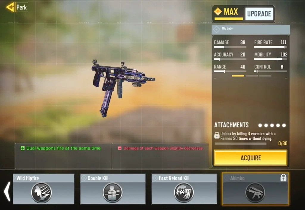 How to Get Akimbo in COD Mobile