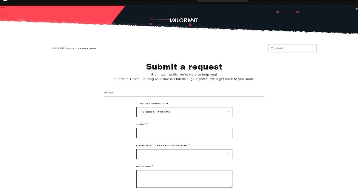 How To Create A Valorant Ticket: Submit A Support Request to Riot Games