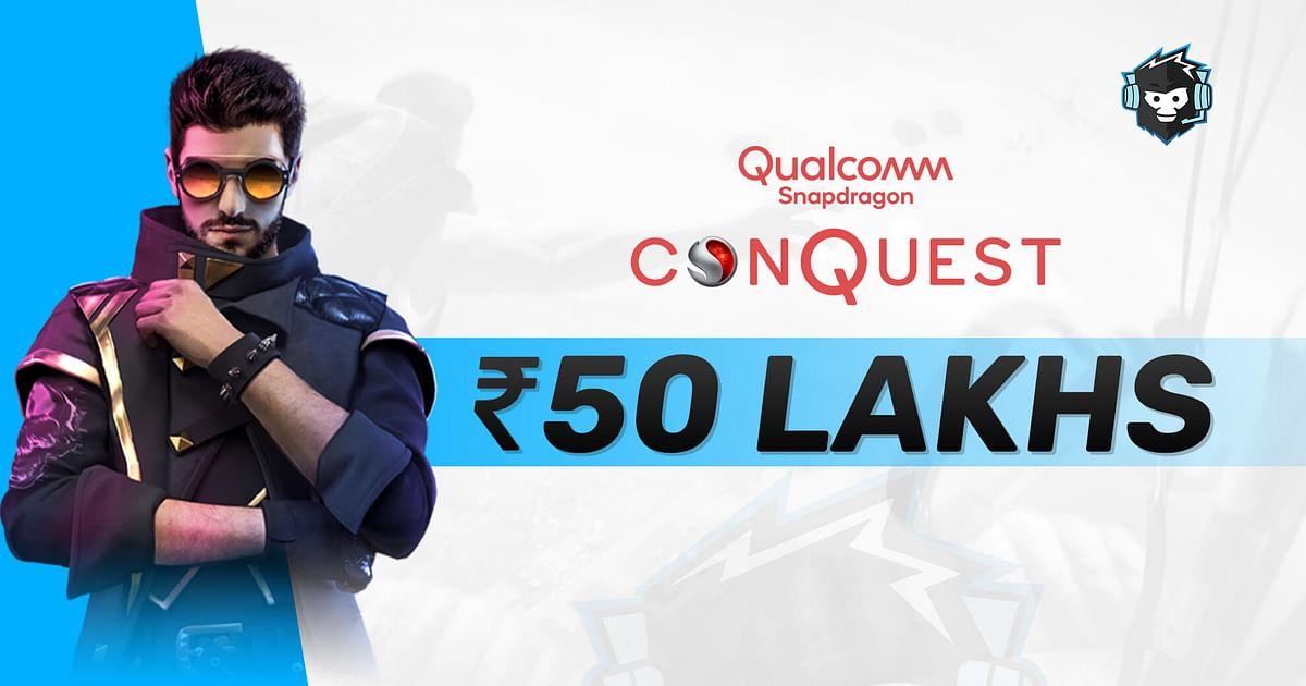 Qualcomm Announces Snapdragon Conquest Free Fire India Tournament