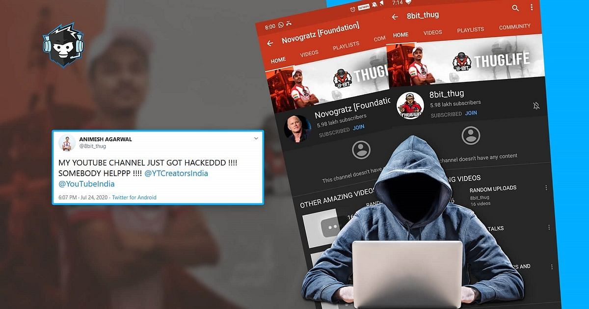 8bit Thug's YouTube Channel And Email Have Been Hacked