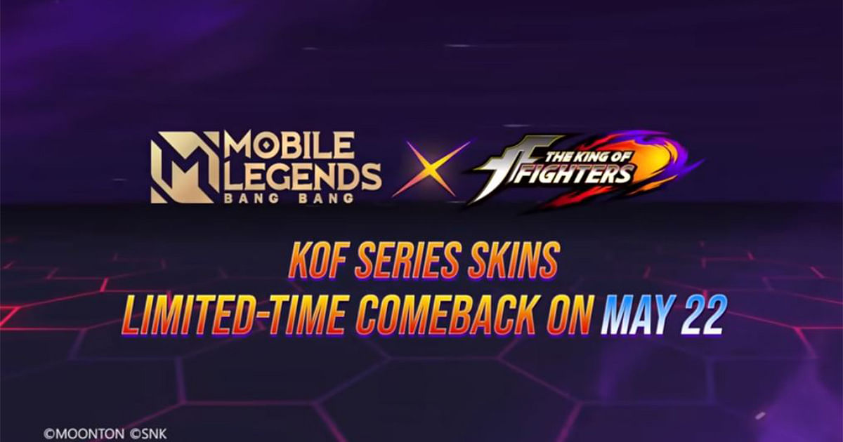 Mobile Legends x King Of Fighters Bingo Event Returns: Preorder for a Free Draw