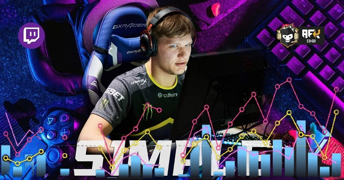 S1mple Sets New Personal Twitch Record for Peak Viewers