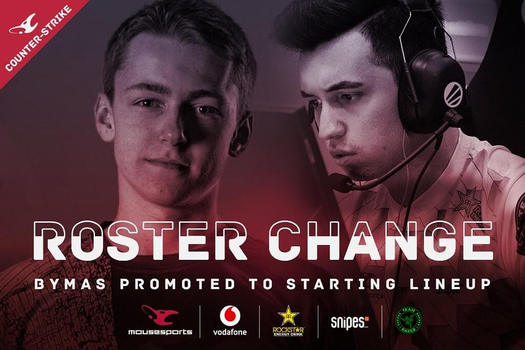 Woxic Speaks Up Following His Departure From Mousesports Active Lineup