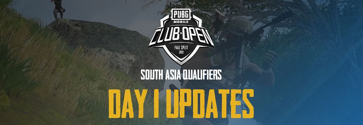 PMCO Fall 2019 - South Asia Qualifiers - Day 1 Live Updates