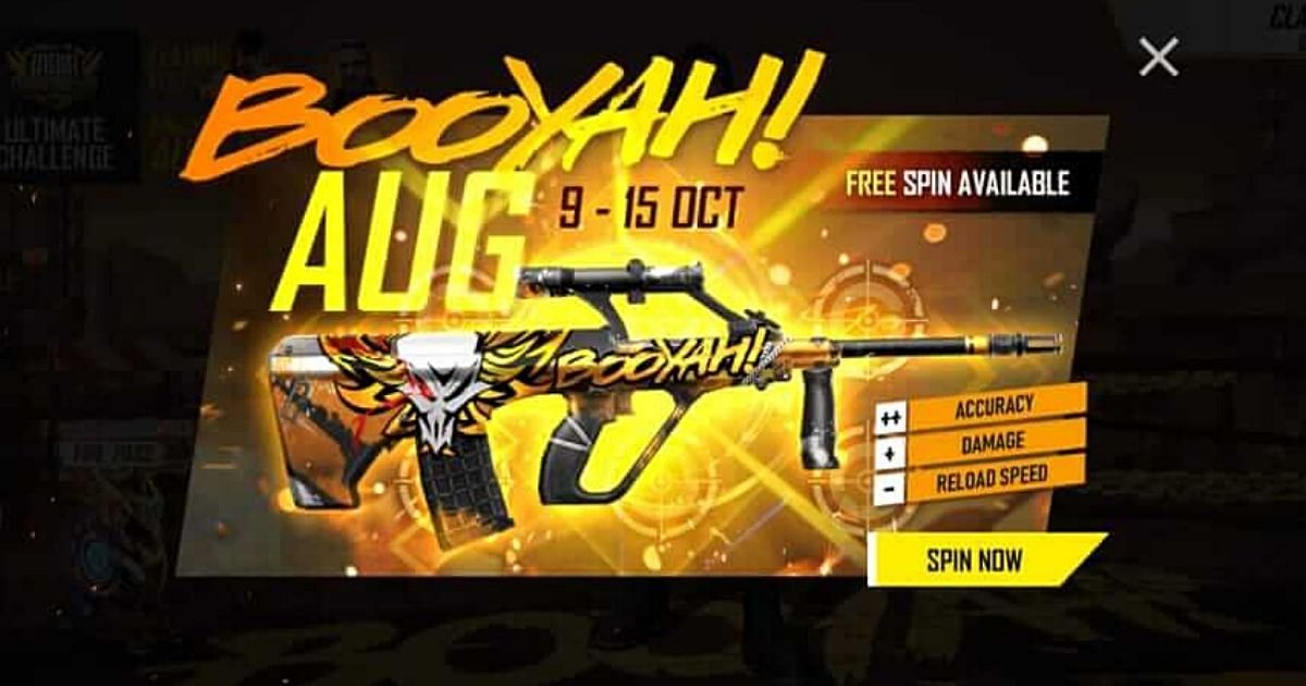 Free Fire Booyah Day Aug Strike Event