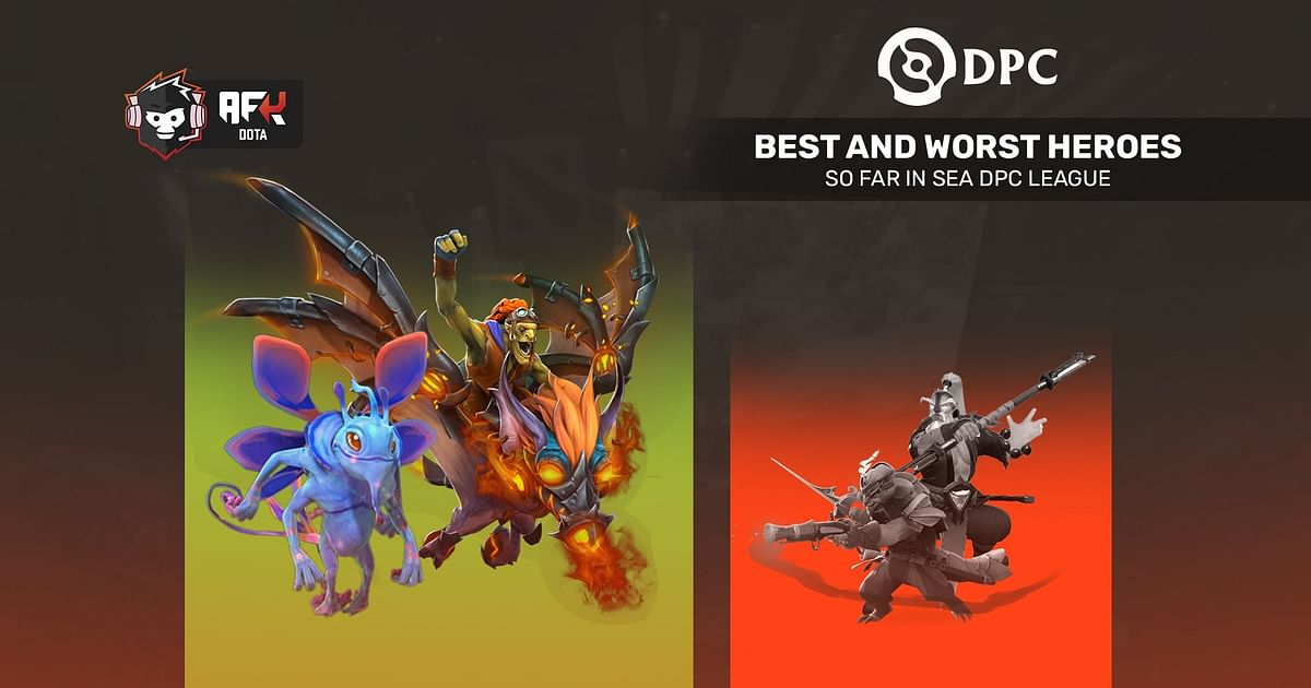 Best and Worst Heroes So Far in SEA DPC League
