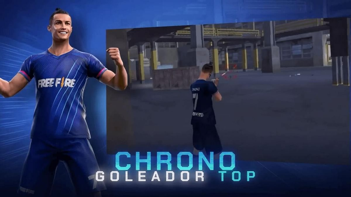 Free Fire: Get Chrono Top Scorer Bundle at Summer Spin Event