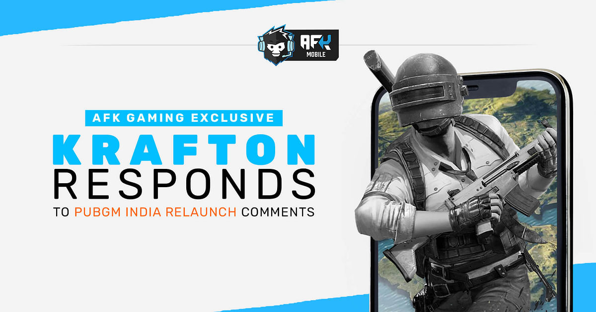 KRAFTON Representative Responds to GodNixon Gaming's Comments on PUBG Mobile India Relaunch