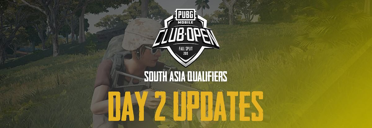 PMCO Fall 2019 - South Asia Qualifiers - Day 2 Live Updates