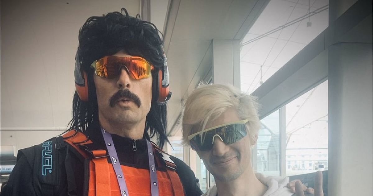 xQc and Dr Disrespect Take Shots at Each Other