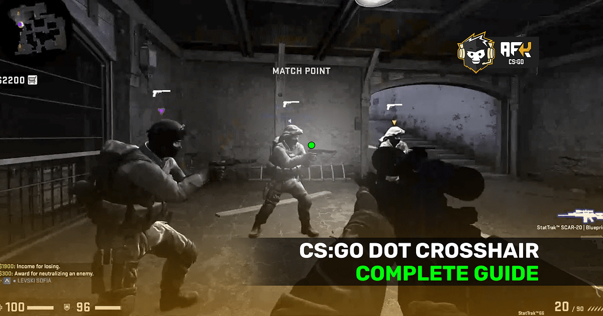 How to Set Dot Crosshair in CS:GO 2021 - Settings and Console Commands