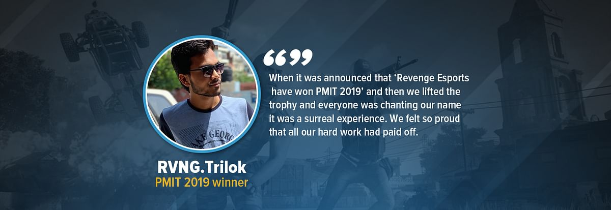 Interview with PMIT 2019 champion RVNG.Trilok