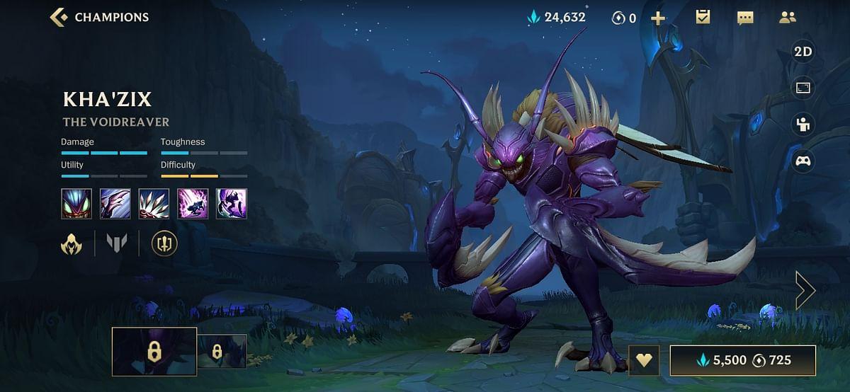 Wild Rift Kha'Zix Build: Abilities, Items, and Runes