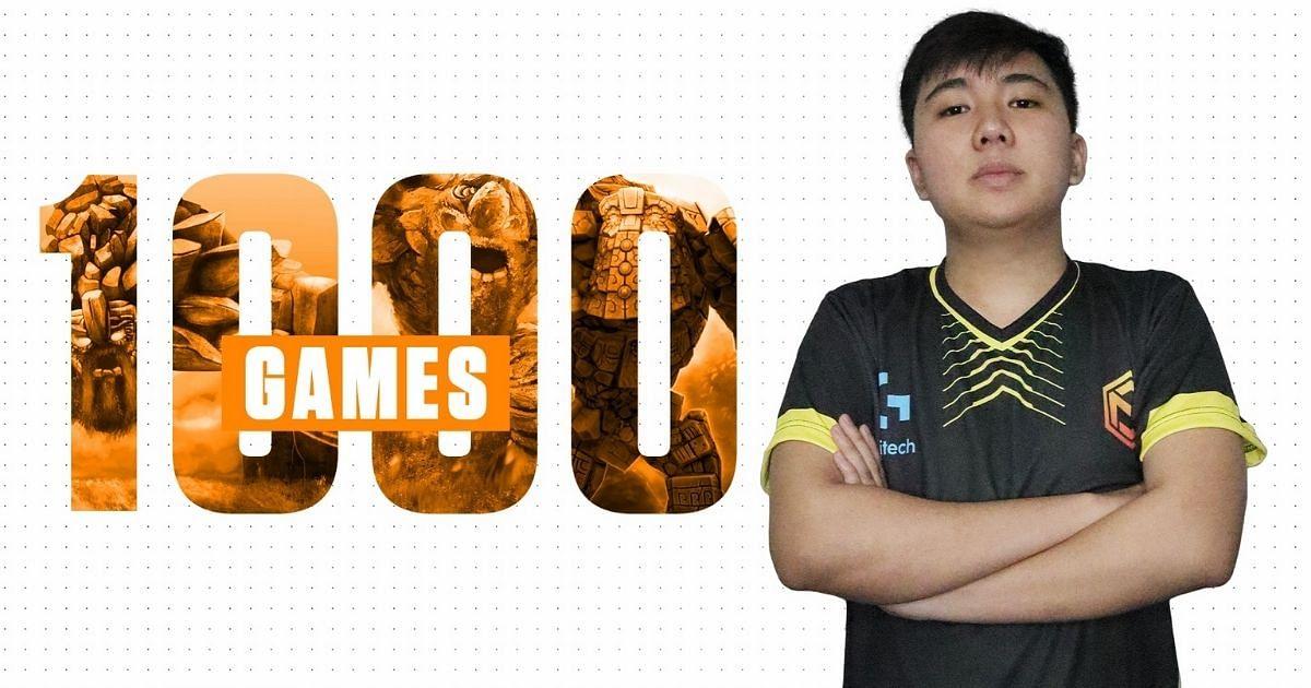 Yopaj Completes 1000 Dota 2 Games With Neon Esports